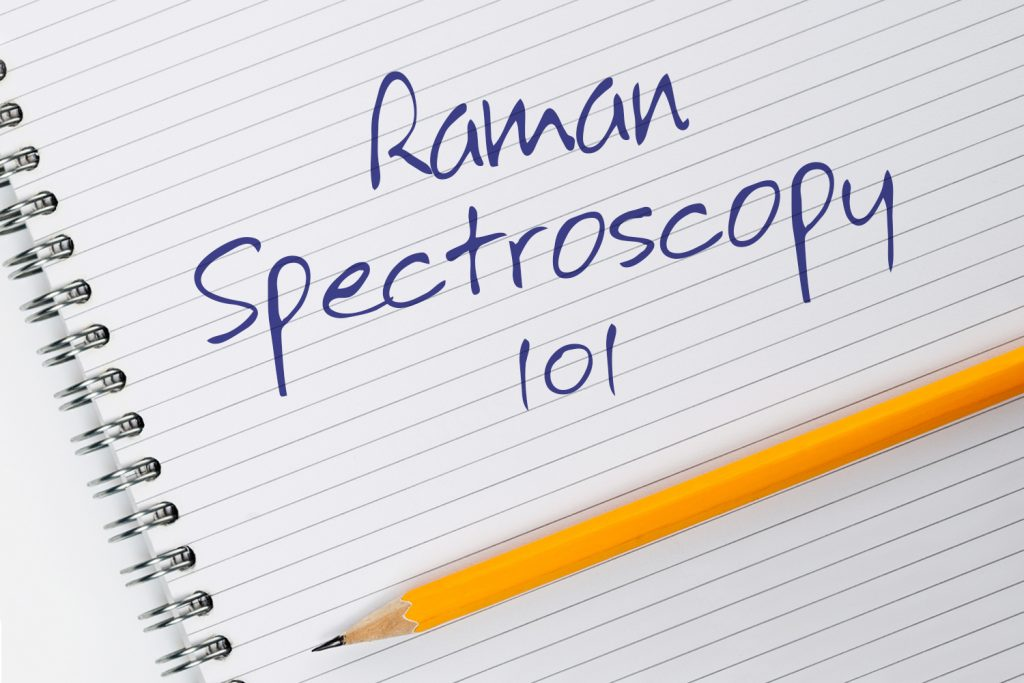 Notepad with Writing Raman Spectroscopy 101
