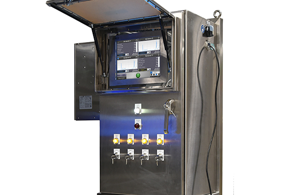 Kaiser Raman Rxn4 analyzer with enclosure